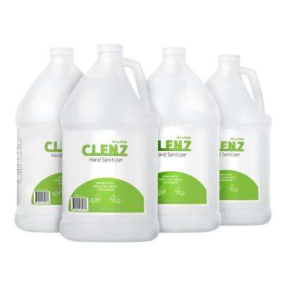 Clenz 1 Gal. Commercial Instant Liquid Hand Sanitizer (4-Pack)