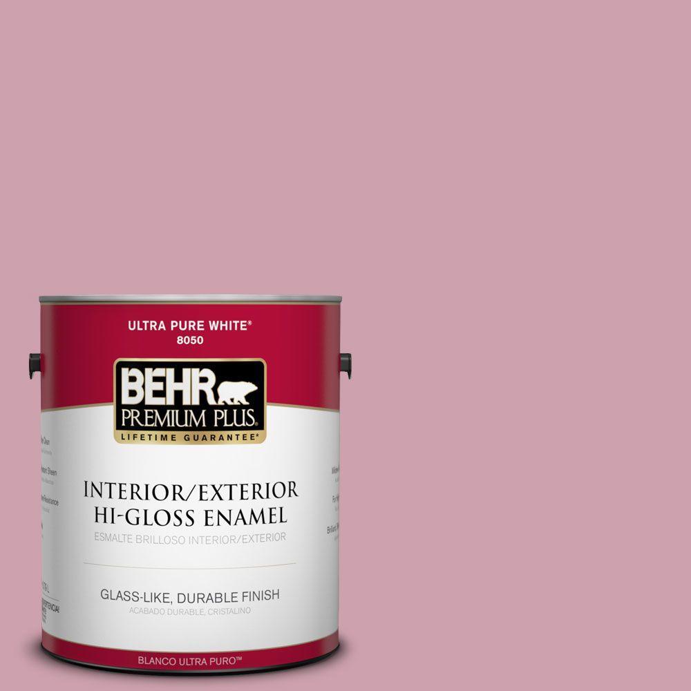 1-gal. #100C-3 Birthday Candle Hi-Gloss Enamel Interior/Exterior Paint