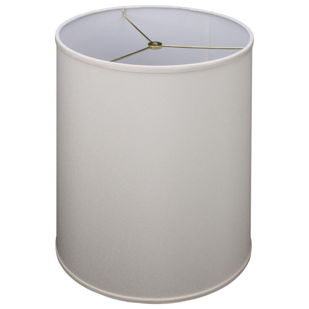 Fenchel Shades 13 in. Top Diameter x 15 in. Bottom Diameter x 17 in. Slant, Designer Chintz Cream Empire Lamp Shade