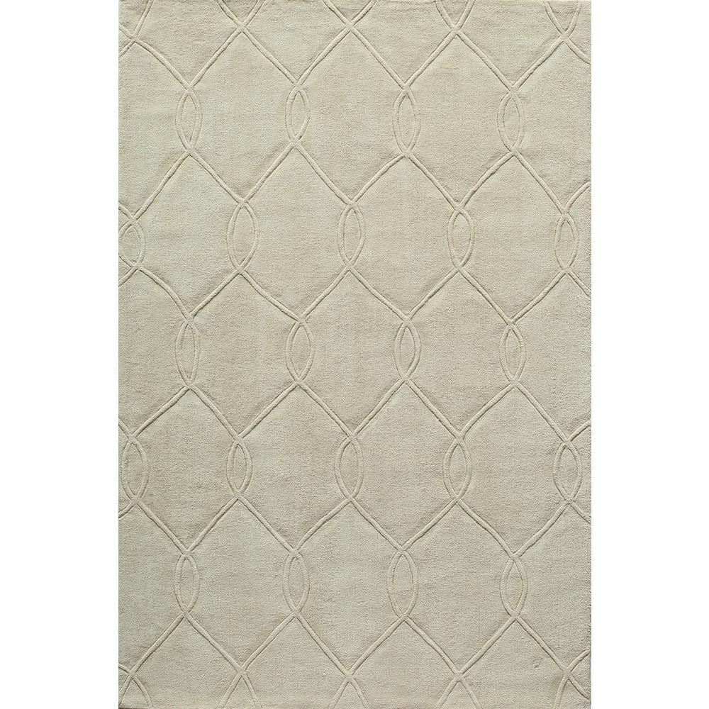 Bliss Ivory 5 ft. x 7 ft. Indoor Area Rug