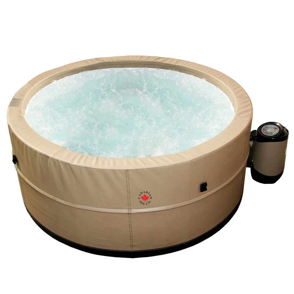 canadian spa company swift current 5 person portable spa kp 10002 the home depot. Black Bedroom Furniture Sets. Home Design Ideas
