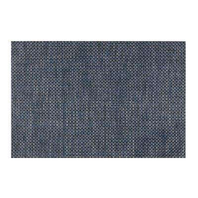 EveryTable Blue Brown Weave Placemat (Set of 12)