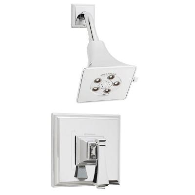 Rainier Single-Handle 3-Spray Shower Faucet in Polished Chrome (Valve Included)
