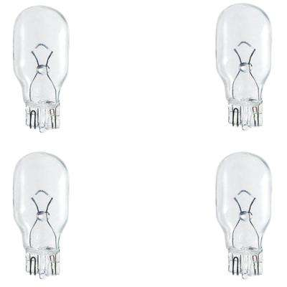 11-Watt T5 Incandescent 12-Volt Wedge Light Bulb (4-Pack)