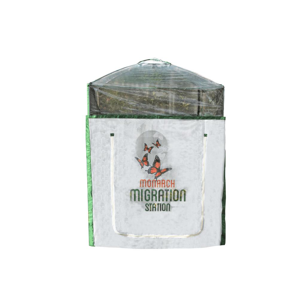 Frame It All Monarch Migration Station 4 ft. x 4 ft. Pro Butterfly ...