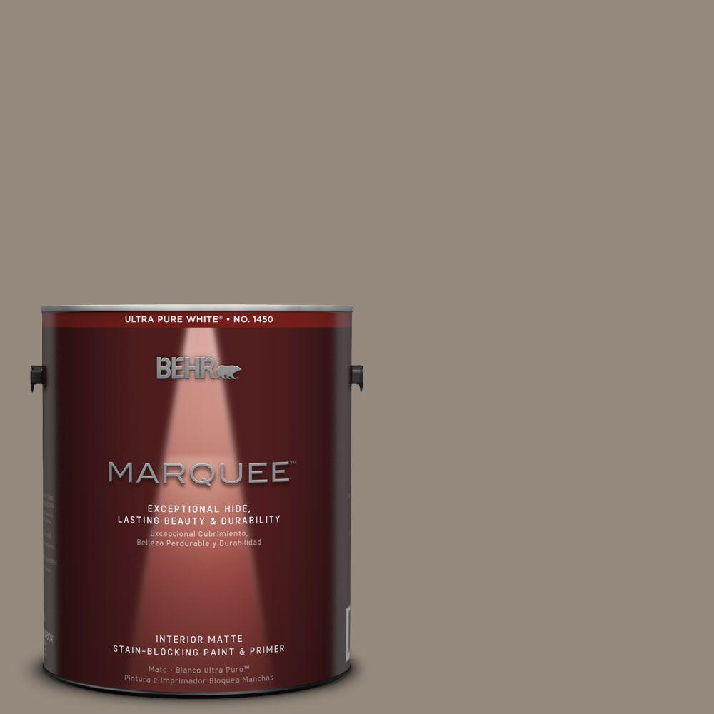 1 gal. #MQ2-57 Art District Matte One-Coat Hide Interior Paint and