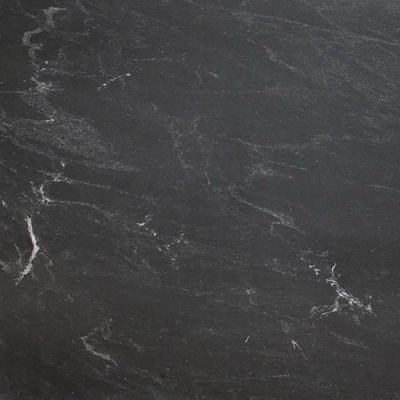 3 in. x 3 in. Granite Countertop Sample in Black Mist Antiqued