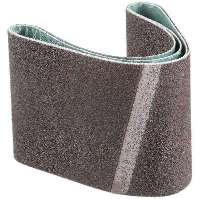 3 in. x 18 in. 60-Grit Abrasive Belt (2-Pack)