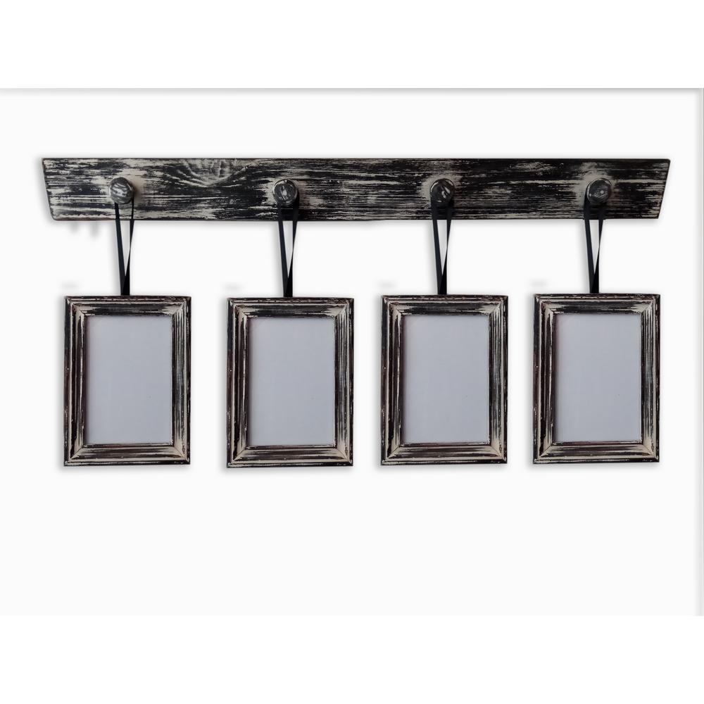 Wood - 4 - Black - Wall Frames - Wall Decor - The Home Depot