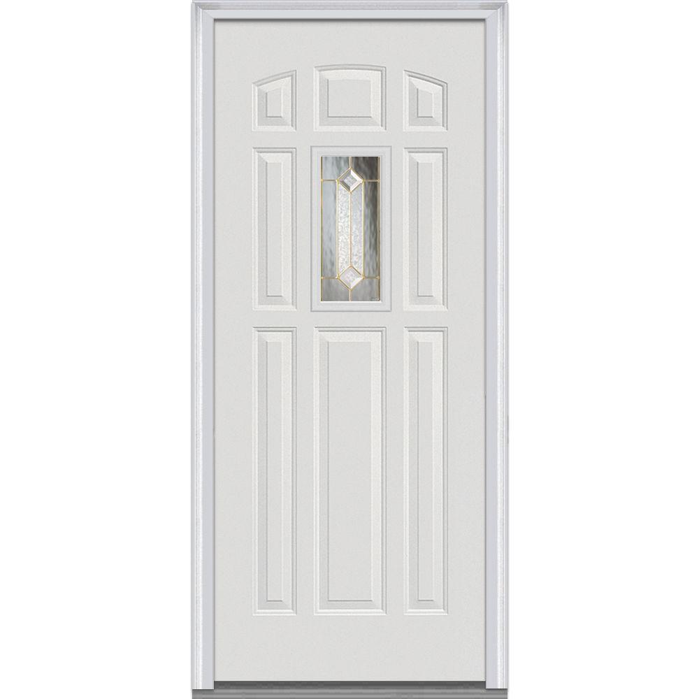 2 Panel - 3/4 Lite - Doors With Glass - Fiberglass Doors - The Home ...