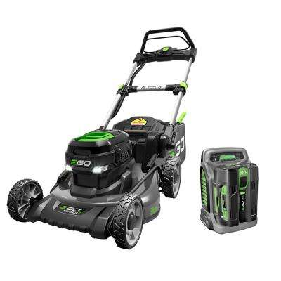 20 in. 56-Volt Lithium-ion Electric (Brushless) Walk Behind Steel Deck Push Mower 5.0Ah Battery and Charger Included