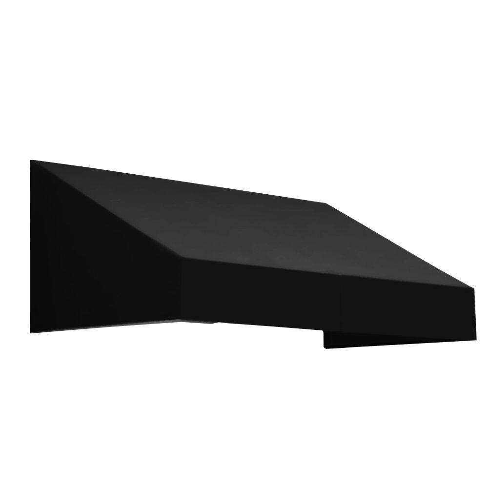 AWNTECH 5.375 ft. New Yorker Window/Entry Awning (16 in. H x 30 in. D) in Black