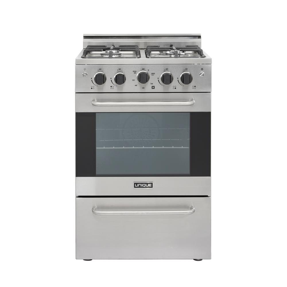 Gas Convection Range Sealed 4 Burners