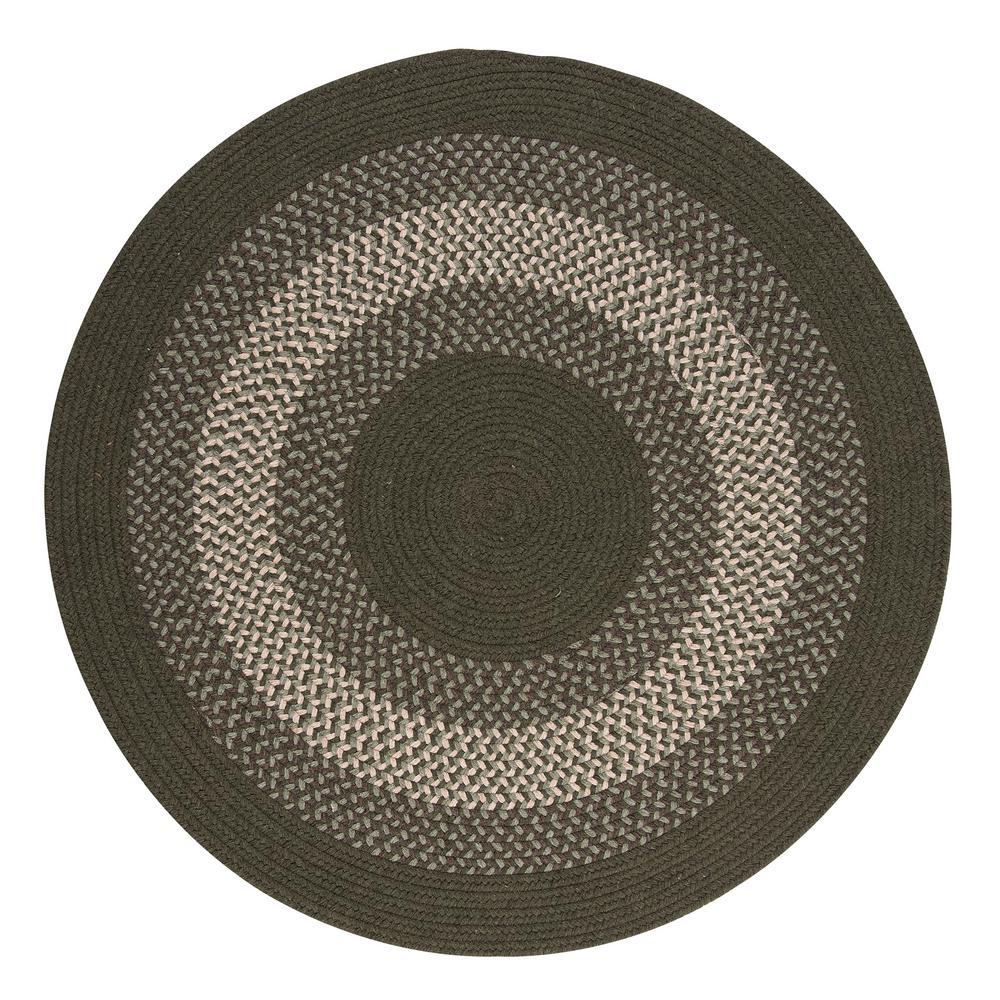 Round Braided Area Rug