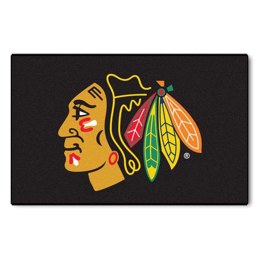 Chicago Blackhawks 5 ft. x 8 ft. Ulti-Mat
