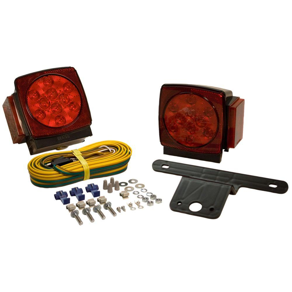Delightful Blazer LED Submersible Trailer Lamp Kit For Under 80 In. Applications