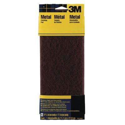 4-3/8 in. x 11 in. Coarse Grit Metal Hand Finishing Pad