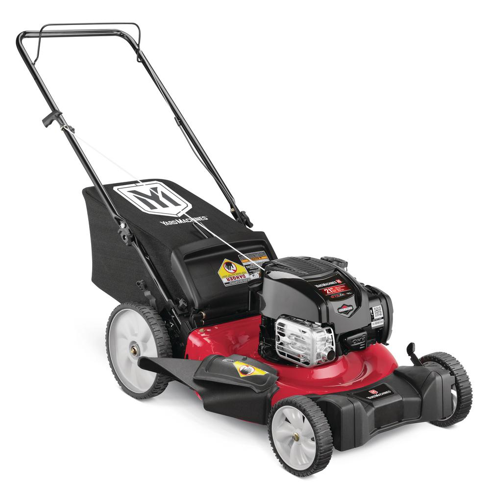 Yard Machines 21 in. 163 cc OHV Briggs and Stratton Gas Walk Behind Push Mower