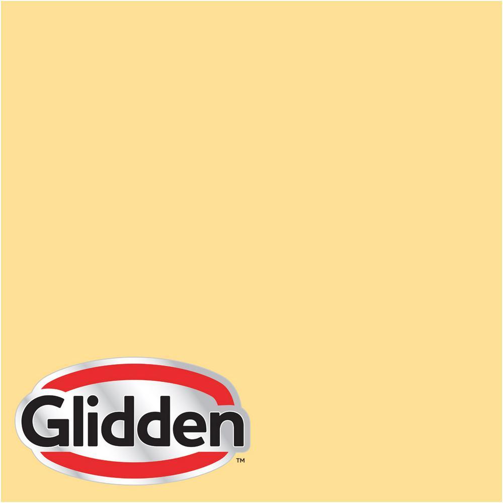 8 oz. #HDGY29 Sunny Flat Interior Paint Sample