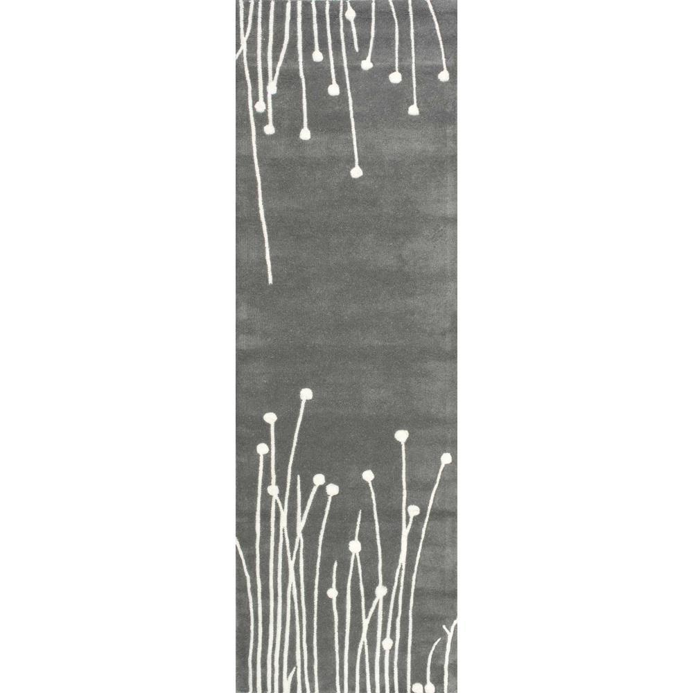Daza Grey 2 ft. 6 in. x 8 ft. Runner Rug