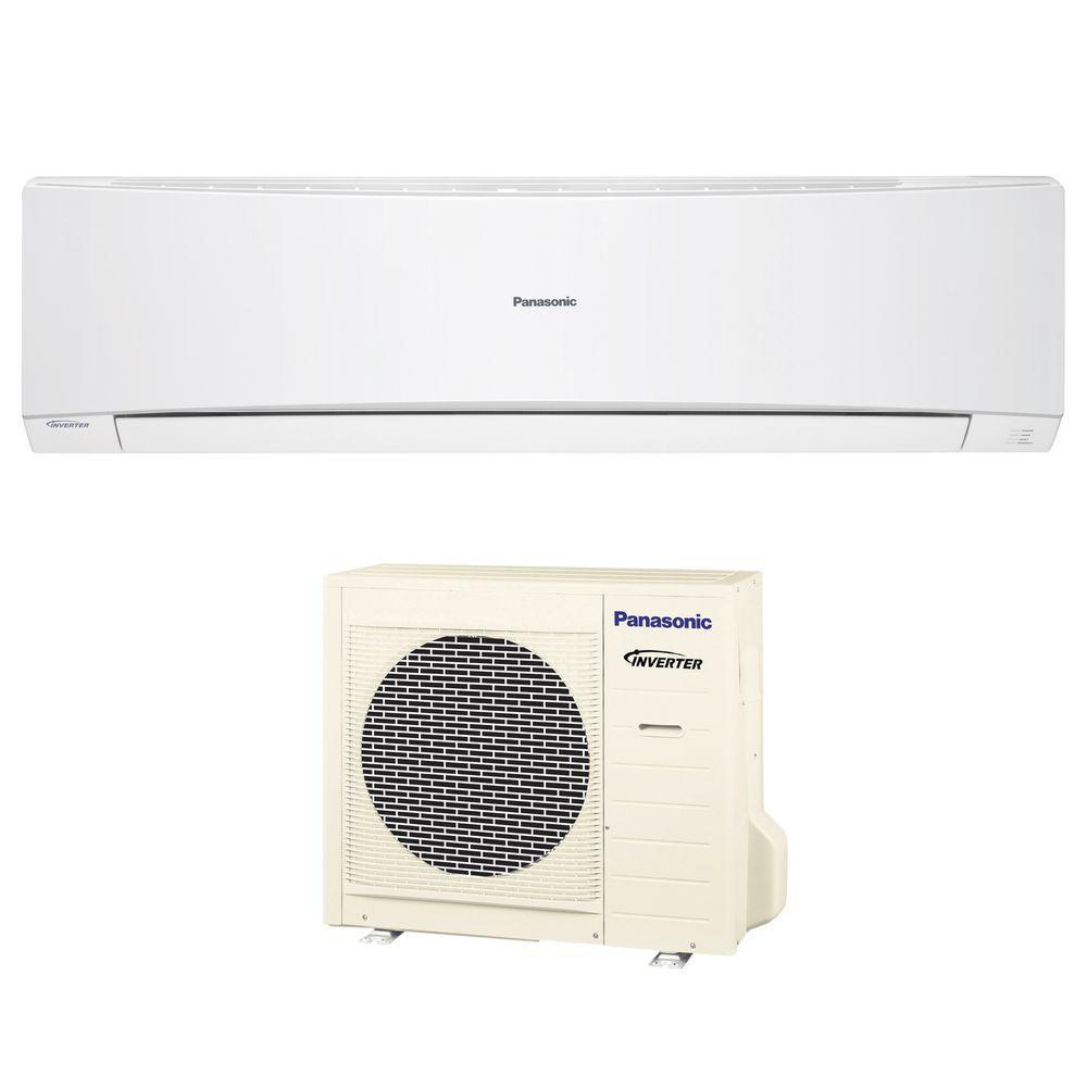 18,000 BTU 1.5 Ton Ductless Mini Split Air Conditioner with Heat Pump - 208 or 230V/60Hz