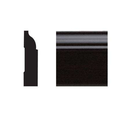 5947 3/8 in. x 1-1/4 in. x 7 ft. PVC Composite Colonial Stop Espresso Moudling