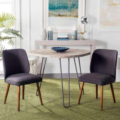 Ethel Dark Taupe Dining Chair (Set of 2)