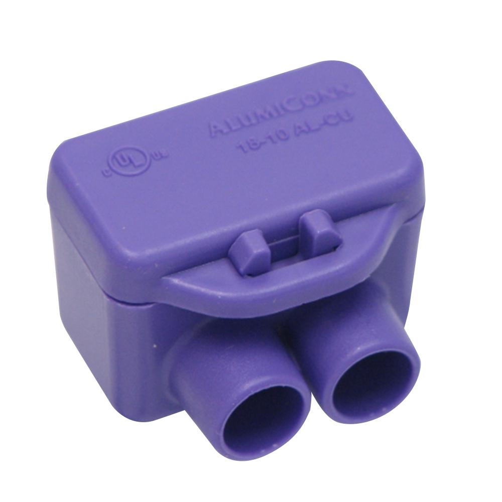 Purple 100 pk King Innovation 95035 AlumiConn wire connector
