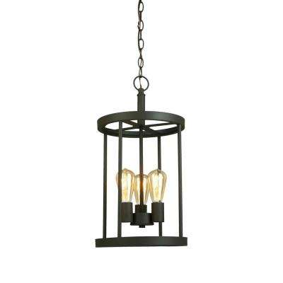 3-Light Oil Rubbed Bronze Pendant