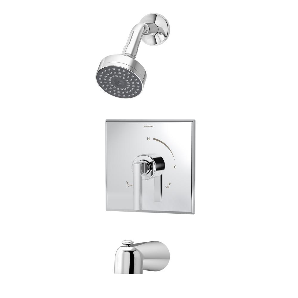 Duro Single-Handle Tub/Shower Valve Trim Kit in Chrome (Valve Not Included)