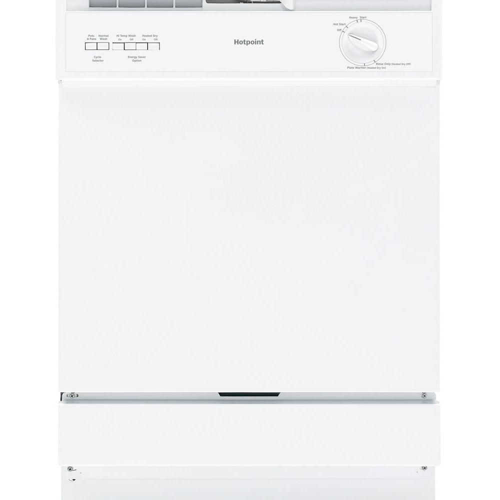Hotpoint Front Control Dishwasher in White