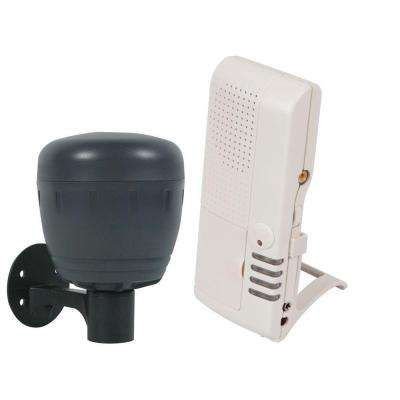Wireless Motion Sensor for Battery Operated Transmitter with Voice Receiver