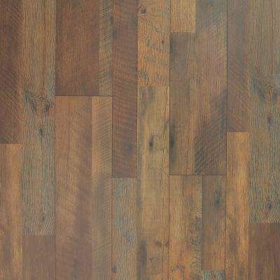 8 mm Mountain Oak Laminate Flooring - 5 in. x 7 in. Take Home Sample
