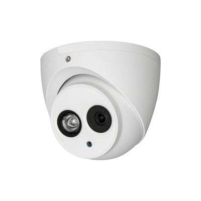 3.6 mm Lens 164 ft. IR Wired Megapixel HDCVI Dot Matrix Dome Surveillance Camera
