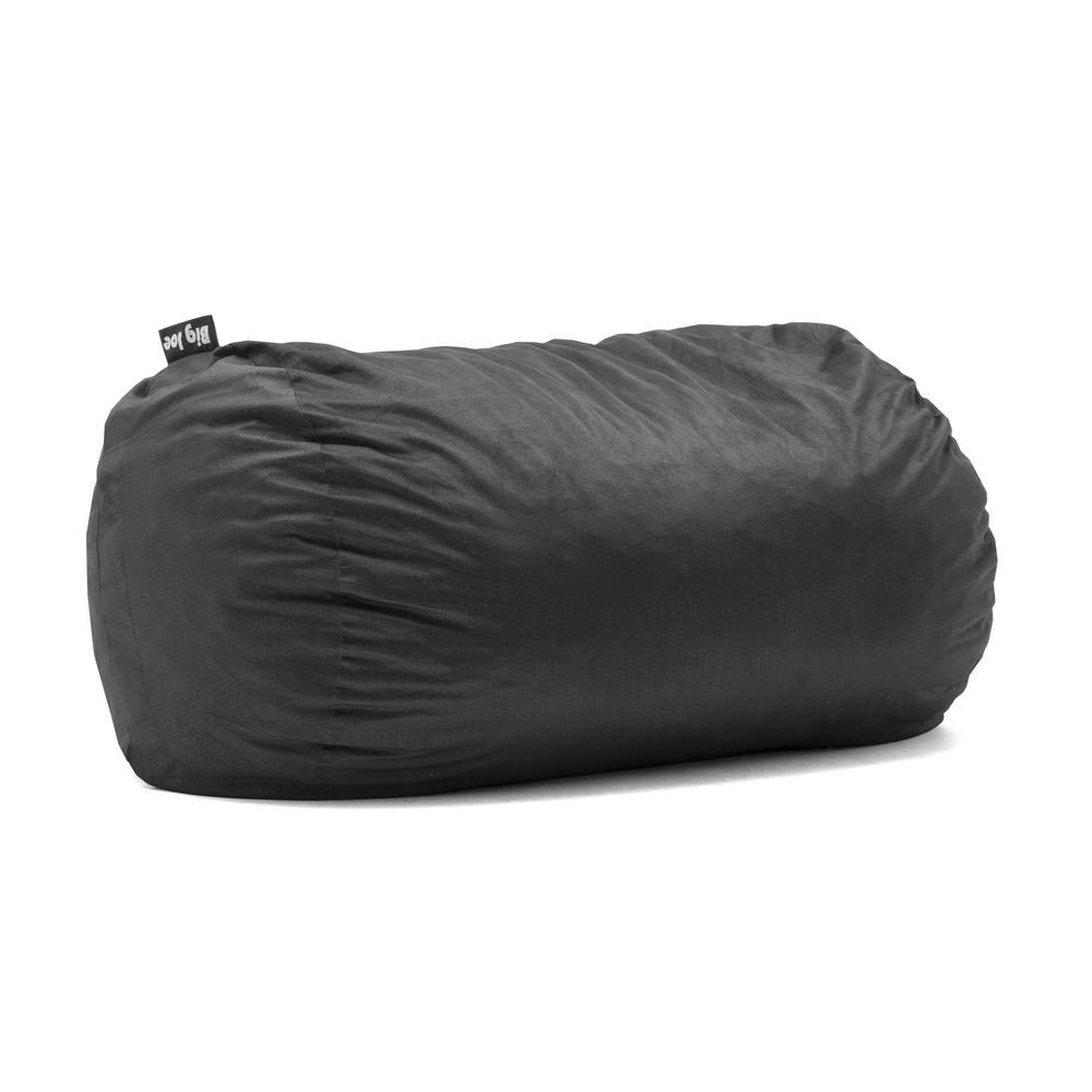 Media Lounger Shredded Ahhsome Foam Black Lenox Bean Bag