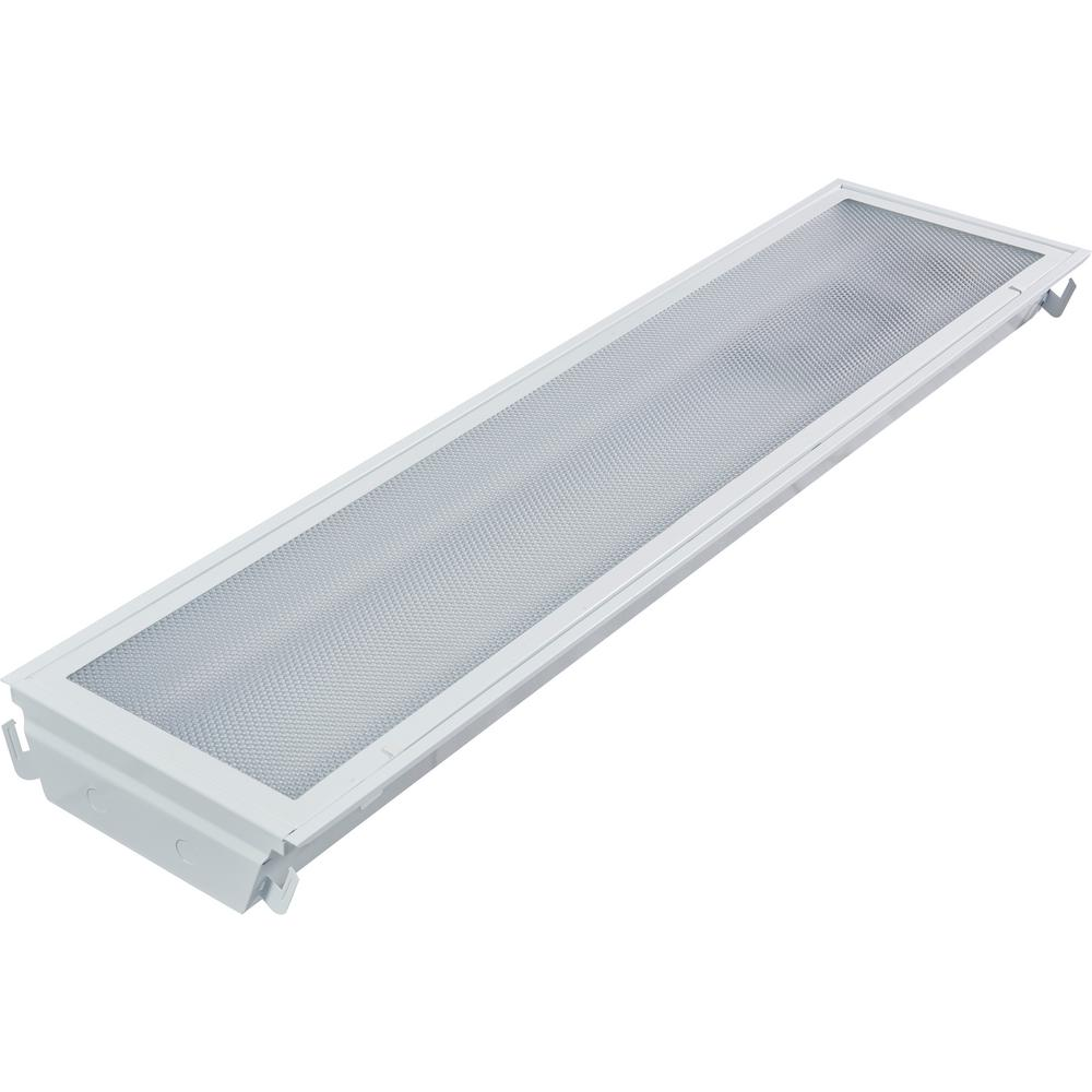 1 ft. x 4 ft. 40 Watt Prismatic Dimmable 4000K Integrated LED Troffer