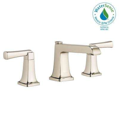 Townsend 8 in. Widespread 2-Handle Bathroom Faucet in Polished Nickel