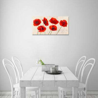 24 in. H x 48 in. W 'SAI - Spring Time' by Oliver Gal Framed Canvas Wall Art