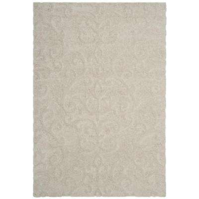 Florida Shag Cream 8 ft. x 10 ft. Area Rug