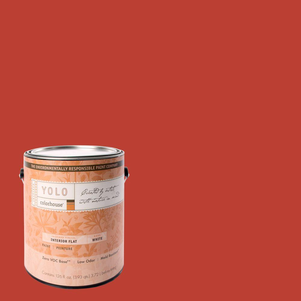 YOLO Colorhouse 1-gal. Petal .06 Flat Interior Paint-DISCONTINUED
