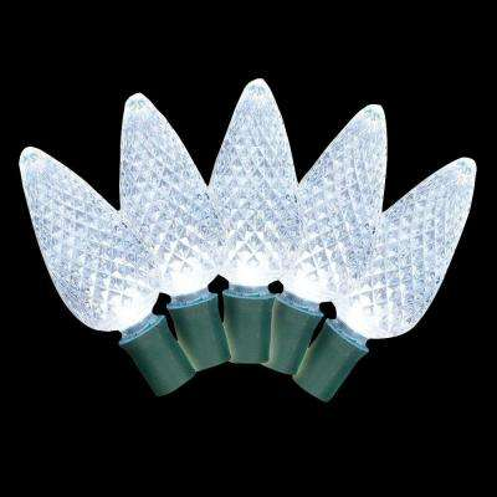 25-Light LED White C9 Light Set (Set of 2)
