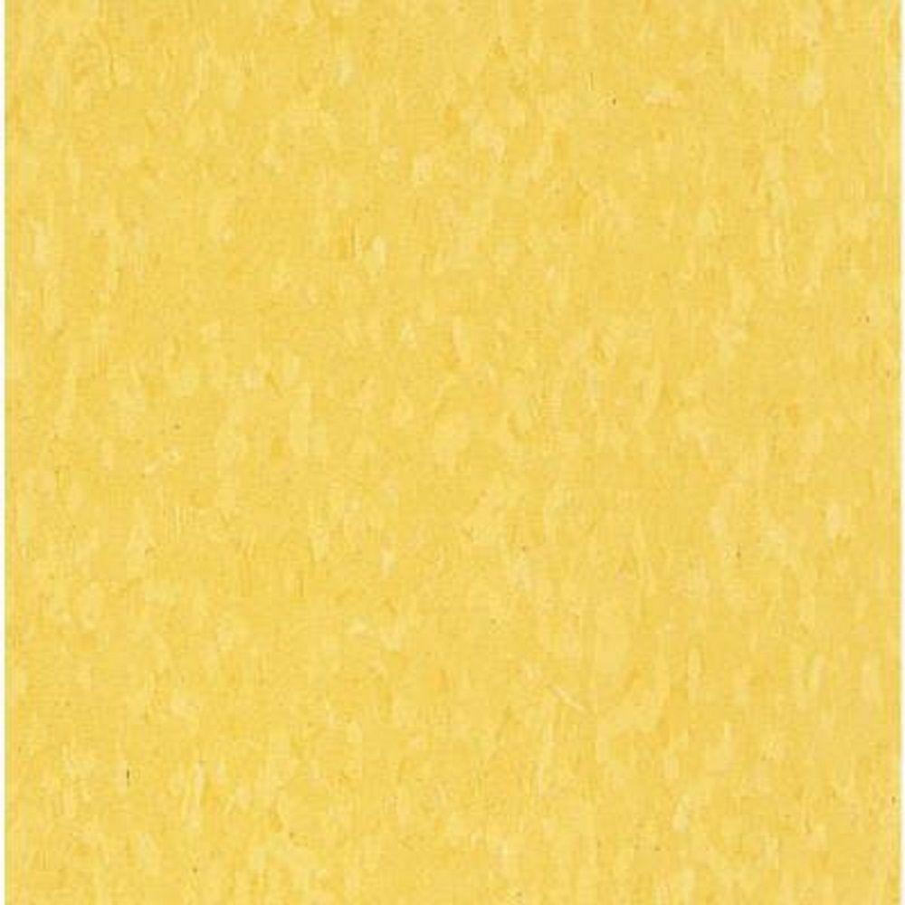 Armstrong Take Home Sample Imperial Texture Vct Lemon Yellow