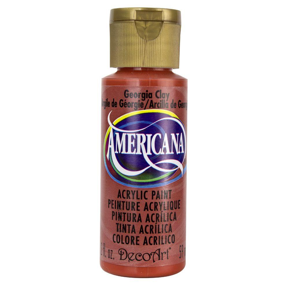 Americana 2 oz. Georgia Clay Acrylic Paint