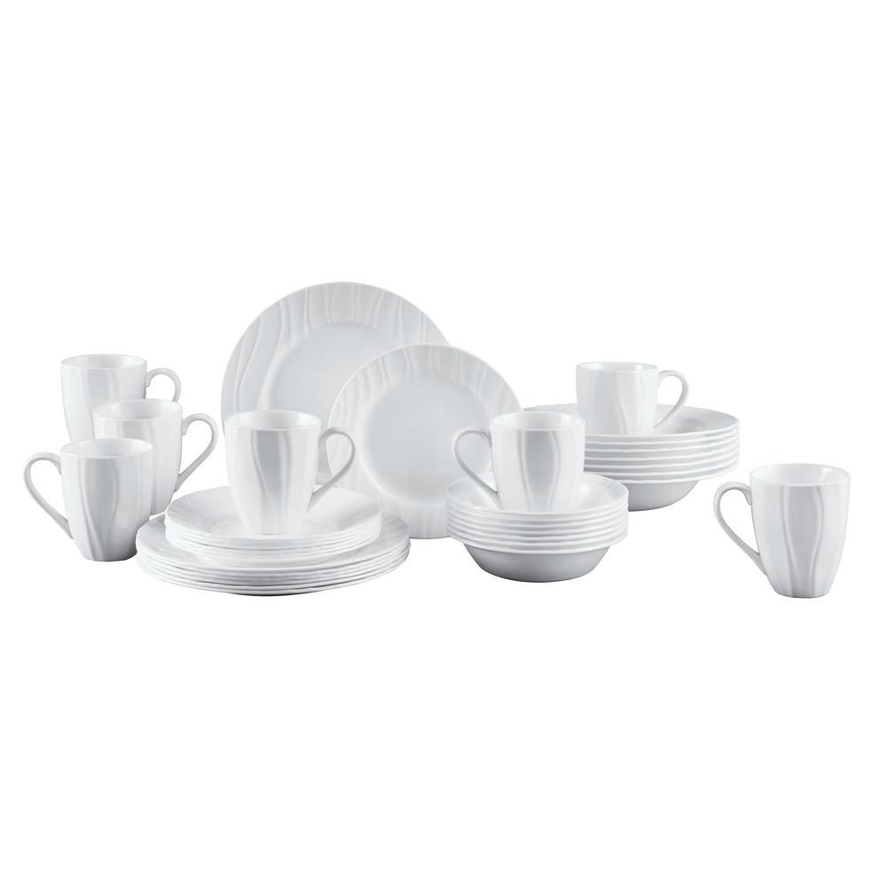 Corelle Boutique 40-Piece Swept Dinnerware Set 1118501