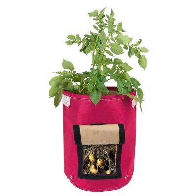 9 Gal. Amaranth Fabric Potato Planter Bag