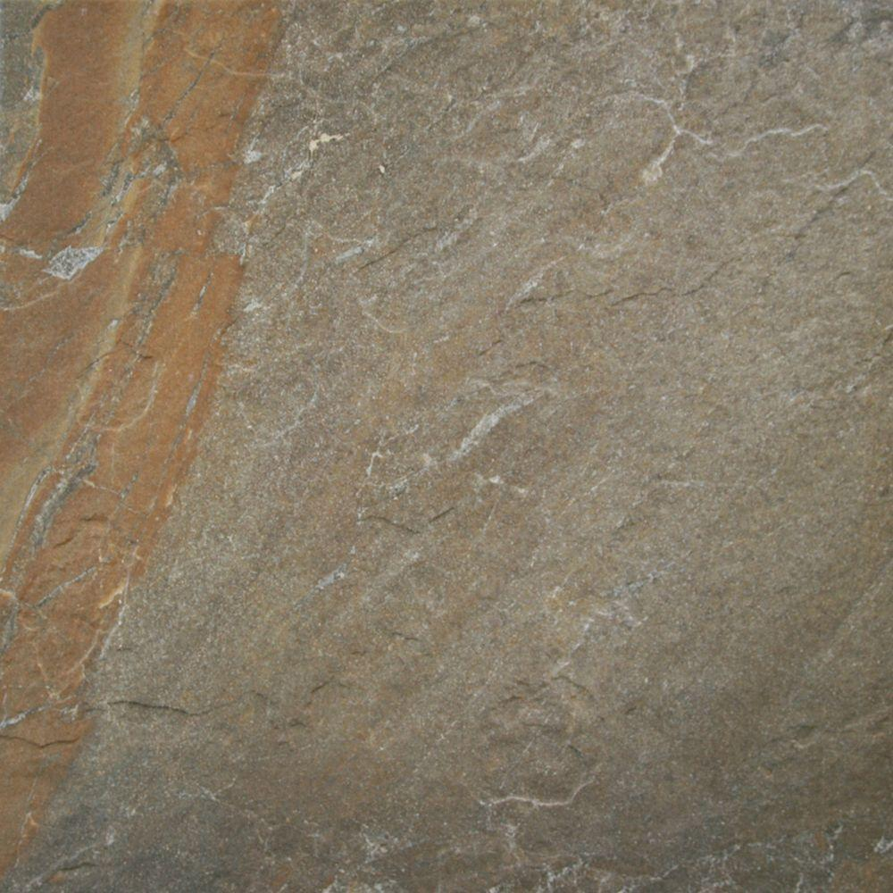 Ayers Rock Rustic Remnant 6-1/2 in. x 6-1/2 in. Glazed Porcelain