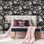 Tempaper Moody Floral Self-Adhesive Removable Wallpaper