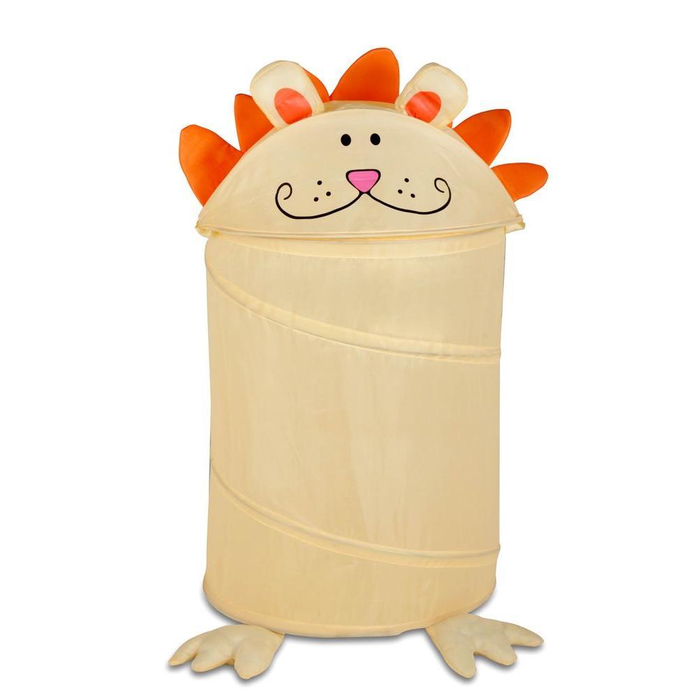 Medium Kid's Pop-Up Hamper Lion