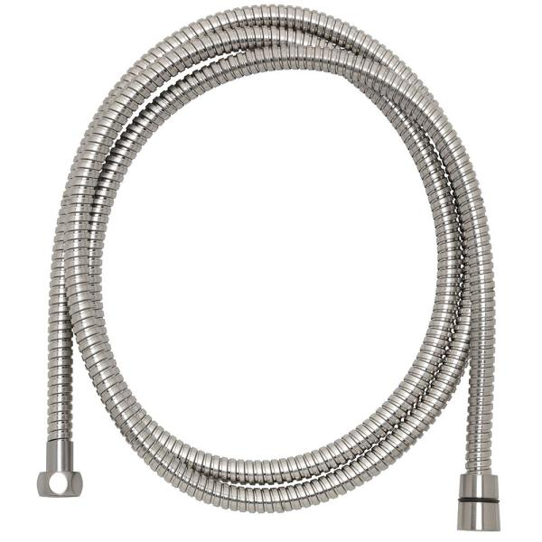 86 in. Stainless Steel Replacement Shower Hose in Brushed Nickel