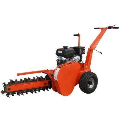 24 in. 14 HP Gas Walk-Behind Trencher with Kohler Engine